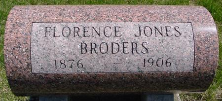 JONES BRODERS, FLORENCE - Sac County, Iowa | FLORENCE JONES BRODERS