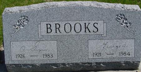 BROOKS, GEORGE & A. GWYNN - Sac County, Iowa | GEORGE & A. GWYNN BROOKS