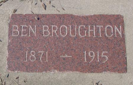 BROUGHTON, BEN - Sac County, Iowa | BEN BROUGHTON