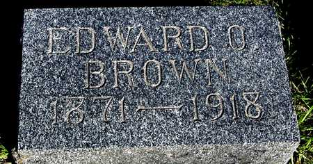 BROWN, EDWARD O. - Sac County, Iowa | EDWARD O. BROWN