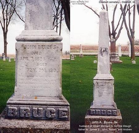 BRUCE, JOHN, SR. - Sac County, Iowa | JOHN, SR. BRUCE