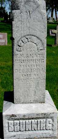 BRUNNING, BERTHA J. - Sac County, Iowa | BERTHA J. BRUNNING
