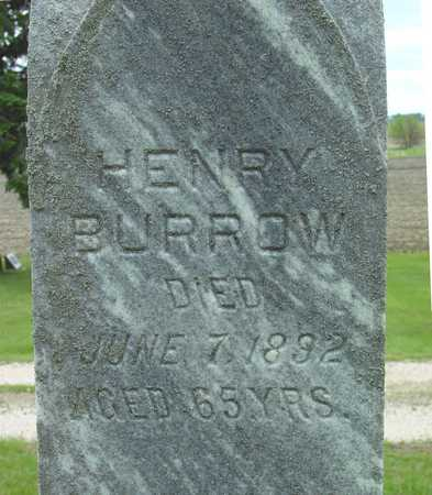 BURROW, HENRY - Sac County, Iowa | HENRY BURROW