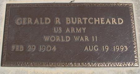 BURTCHEARD, GERALD R. - Sac County, Iowa | GERALD R. BURTCHEARD