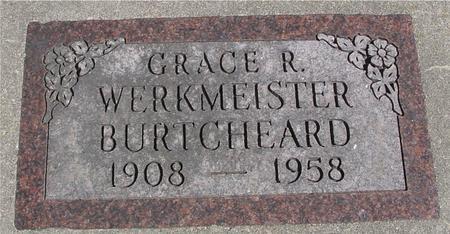 WERKMEISTER BURTCHEARD, GRACE - Sac County, Iowa | GRACE WERKMEISTER BURTCHEARD