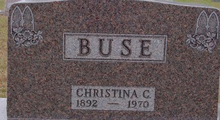 BUSE, CHRISTINA G. - Sac County, Iowa | CHRISTINA G. BUSE