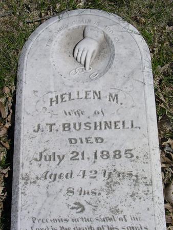 BUSHNELL, HELLEN M. - Sac County, Iowa | HELLEN M. BUSHNELL