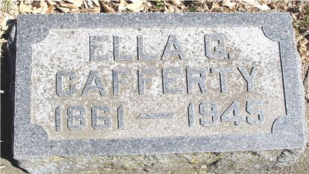 CAFFERTY, ELLA G. - Sac County, Iowa | ELLA G. CAFFERTY