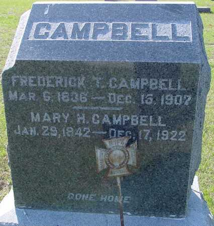 CAMPBELL, FREDERICK T. & MARY - Sac County, Iowa | FREDERICK T. & MARY CAMPBELL