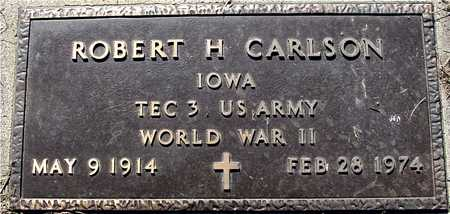 CARLSON, ROBERT H. - Sac County, Iowa | ROBERT H. CARLSON
