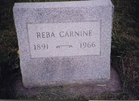 CARNINE, REBA - Sac County, Iowa | REBA CARNINE