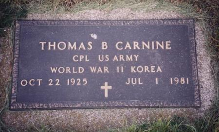 CARNINE, THOMAS  B. - Sac County, Iowa | THOMAS  B. CARNINE