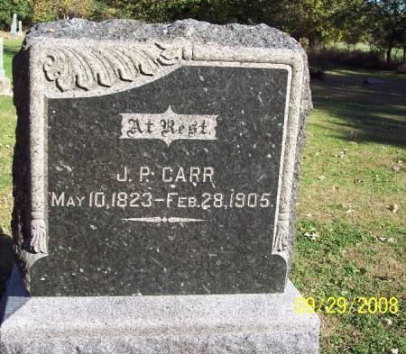 CARR, JAMES P - Sac County, Iowa | JAMES P CARR