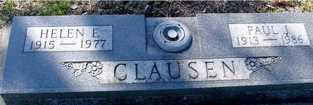 CLAUSEN, PAUL & HELEN E. - Sac County, Iowa | PAUL & HELEN E. CLAUSEN