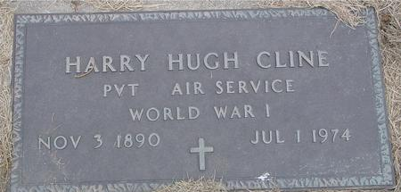 CLINE, HARRY HUGH - Sac County, Iowa | HARRY HUGH CLINE