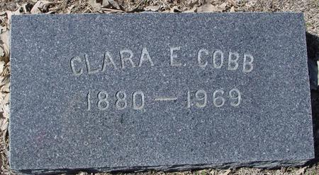 COBB, CLARA E. - Sac County, Iowa | CLARA E. COBB