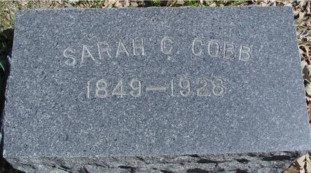 COBB, SARAH C. - Sac County, Iowa | SARAH C. COBB