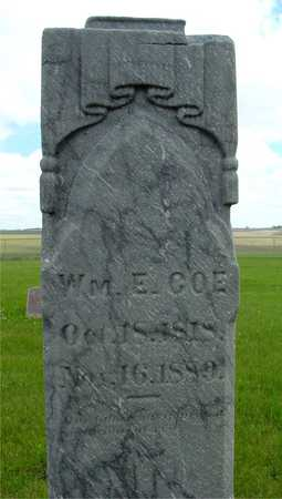 COE, WILLIAM E. - Sac County, Iowa | WILLIAM E. COE