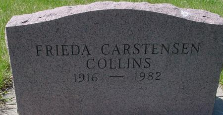 CARSTENSEN COLLINS, FRIEDA - Sac County, Iowa | FRIEDA CARSTENSEN COLLINS