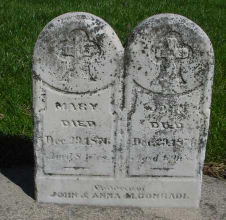 CONRADI, MARY & JOHN - Sac County, Iowa | MARY & JOHN CONRADI