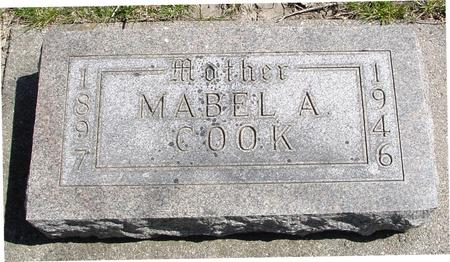 COOK, MABEL A. - Sac County, Iowa | MABEL A. COOK