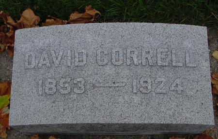 CORRELL, DAVID - Sac County, Iowa | DAVID CORRELL