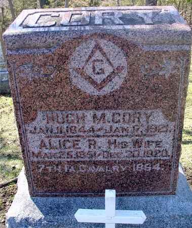 CORY, HUGH M. & ALICE R. - Sac County, Iowa | HUGH M. & ALICE R. CORY