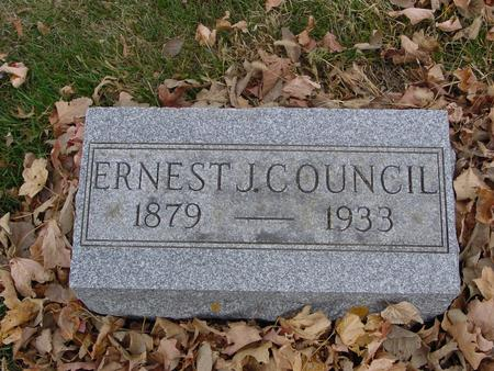 COUNCIL, ERNEST J. - Sac County, Iowa | ERNEST J. COUNCIL