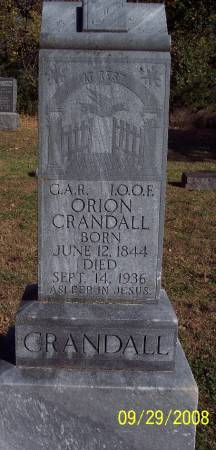 CRANDALL, ORION - Sac County, Iowa   ORION CRANDALL