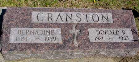CRANSTON, DONALD & BERNADINE - Sac County, Iowa | DONALD & BERNADINE CRANSTON