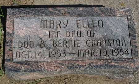 CRANSTON, MARY ELLEN - Sac County, Iowa | MARY ELLEN CRANSTON