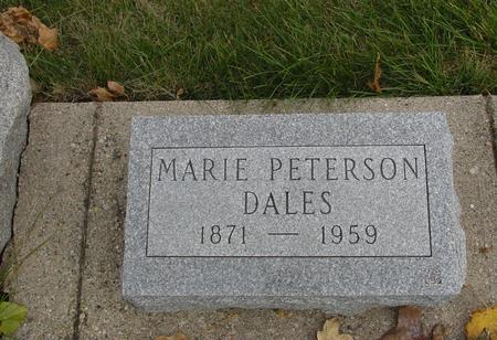 PETERSON DALES, MARIE - Sac County, Iowa | MARIE PETERSON DALES