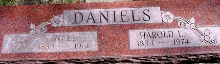 DANIELS, HAROLD & NELL - Sac County, Iowa | HAROLD & NELL DANIELS