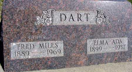 DART, FRED MILES & ELMA - Sac County, Iowa | FRED MILES & ELMA DART