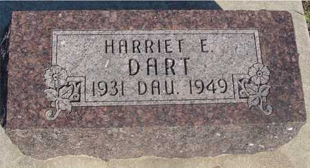 DART, HARRIET E. - Sac County, Iowa | HARRIET E. DART