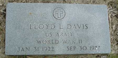 DAVIS, LLOYD L. - Sac County, Iowa | LLOYD L. DAVIS