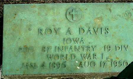 DAVIS, ROY A. - Sac County, Iowa | ROY A. DAVIS