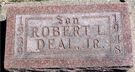 DEAL, ROBERT L.  JR. - Sac County, Iowa | ROBERT L.  JR. DEAL