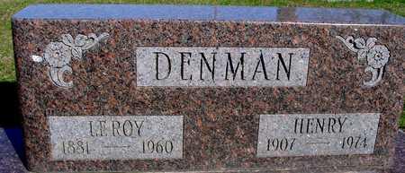 DENMAN, LEROY & HERMAN - Sac County, Iowa | LEROY & HERMAN DENMAN