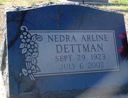 DETTMAN, NEDRA ARLINE - Sac County, Iowa | NEDRA ARLINE DETTMAN