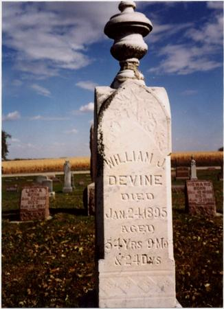 DEVINE, WILLIAM J. - Sac County, Iowa | WILLIAM J. DEVINE