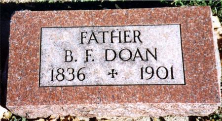 DOAN, B. F. - Sac County, Iowa | B. F. DOAN