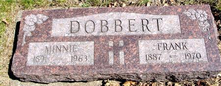 DOBBERT, FRANK & MINNIE - Sac County, Iowa   FRANK & MINNIE DOBBERT
