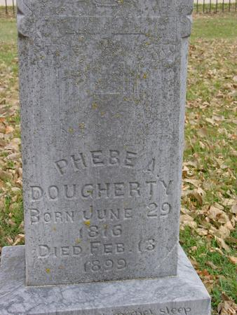 DOUGHERTY, PHEBE A. - Sac County, Iowa | PHEBE A. DOUGHERTY
