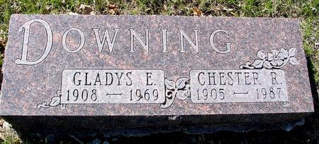 DOWNING, CHESTER & GLADYS - Sac County, Iowa | CHESTER & GLADYS DOWNING