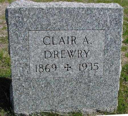 DREWRY, CLAIR A. - Sac County, Iowa | CLAIR A. DREWRY