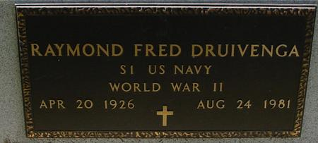 DRUIVENGA, RAYMOND FRED - Sac County, Iowa | RAYMOND FRED DRUIVENGA
