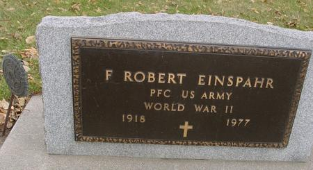 EINSPAHR, F. ROBERT - Sac County, Iowa | F. ROBERT EINSPAHR
