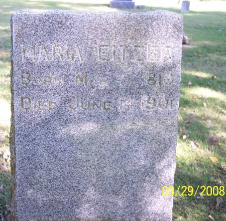 EITZER, MARIA - Sac County, Iowa | MARIA EITZER