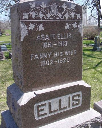ELLIS, ASA T. - Sac County, Iowa | ASA T. ELLIS